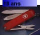 COUTEAU SUISSE CLASSIC RED